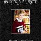 Murder She Wrote - The Complete Sixth Season SIX (DVD, 2007, 5-Disc Set)