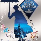 Mary Poppins (DVD, 2004, 2-Disc Set) W/DVD GUIDE JULIE ANDREWS