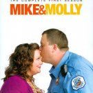 Mike & Molly: The Complete First Season (Blu-ray Disc, 2011, 2-Disc Set)
