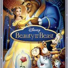 DISNEY Beauty and the Beast (Blu-ray/DVD, 2010, 3-Disc Set, Diamond Edition)