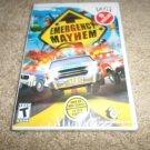 Emergency Mayhem  (Nintendo Wii, 2008) BRAND NEW
