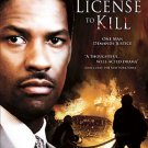 License to Kill (DVD, 2007) DENZEL WASHINGTON BRAND NEW