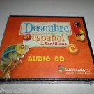 "DESCUBRE EL ESPANOL CON SANTILLANA ""C"" AUDIO CD SANTILLANA USA BRAND NEW"