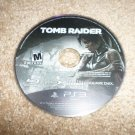 Tomb Raider (Sony Playstation 3, 2013) DISC ONLY