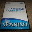 LANGMASTER ADVANTAGE LANGUAGE INTERACTIVE LEARNING SPANISH 4- DISC CD