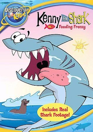 Kenny the Shark - Vol. 1: Feeding Frenzy (DVD, 2007)