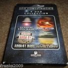 UFO CONSPIRACIES 4-DISC DVD COLLECTION KECKSBURG/ROSWELL UFO CRASH,AREA 51