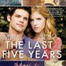 The Last Five Years (DVD, 2015) ANNA KENDRICK,JEREMY JORDAN