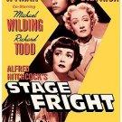 Stage Fright (DVD, 2004) JANE WYMAN,MARLENE DIETRICH