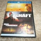 The Samuel L. Jackson Ultimate Collection (DVD, 2007) COACH CARTER,SHAFT,RULES