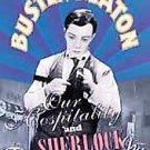 BUSTER KEATON Our Hospitality/Sherlock, Jr. (DVD, 1999) OOP