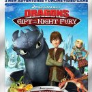 Dragons: Gift of the Night Fury/Book of Dragons (Blu-ray/DVD, 2011,2-Disc W/SLIP