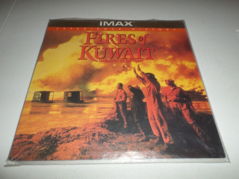 IMAX FIRES OF KUWAIT LASERDISC