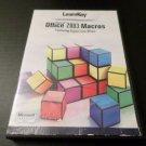 LEARN KEY MICROSOFT OFFICE 2003 MACROS W/ ERIN OLSEN CD-ROM