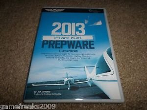 ASA 2013 PRIVATE PILOT PREPWARE CD-ROM & STUDY GUIDE