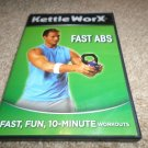 KETTLE WORX FAST ABS FITNESS WORKOUT DVD