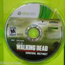 Walking Dead: Survival Instinct (Microsoft Xbox 360, 2013) NO MANUAL