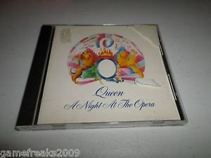 QUEEN A NIGHT AT THE OPERA MADE IN ENGLAND IMPORT CD EMI RECORDS CD 1975