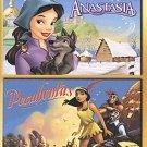 Anastasia/Pocahontas - Double Feature (DVD, 2003)