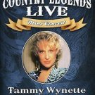 Country Legends Live Tammy Wynette (DVD, 2008)