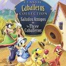 DISNEY Classic Caballeros Collection:Saludos Amigos/Three Caballeros (DVD, 2008)