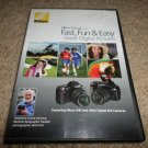 NIKON FAST,FUN & EASY GREAT DIGITAL PICTURES DVD