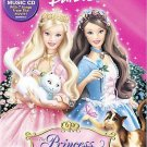 Barbie as the Princess and the Pauper (DVD, 2004, Includes Bonus CD)