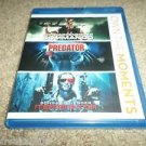 COMMANDO,PREDATOR,TERMINATOR-ARNOLD SCHWARZENEGGER BLU RAY COLLECTION