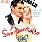 San Francisco (DVD, 2006) CLARK GABLE,JEANETTE MACDONALD