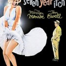 The Seven Year Itch (DVD, 2006 Cinema Classics Collection) MARILYN MONROE W/SLIP