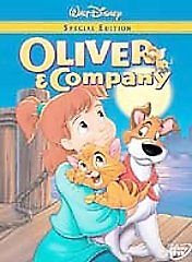 DISNEY Oliver and Company (DVD, 2002)