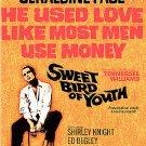 Sweet Bird of Youth (DVD, 2006) PAUL NEWMAN,GERALDINE PAGE