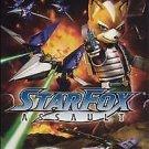 Star Fox: Assault (Nintendo GameCube, 2005) NO MANUAL