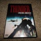 THUNDER FROM ABOVE **RARE** OOP MILITARY AIRCRAFT STANDARD DOCUMENTARY DVD