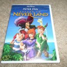 DISNEY PETER PAN Return to Never Land (DVD, 2002)