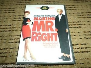 Making Mr. Right (DVD, 2003, Widescreen and Full Frame) JOHN MALKOVICH