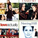 Definitely, Maybe/Because I Said So/Love Actually/Notting Hill (DVD, 2012,...
