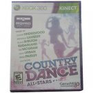 Country Dance All-Stars  (Microsoft Xbox 360, 2012) COMPLETE UNDERWOOD,MCGRAW