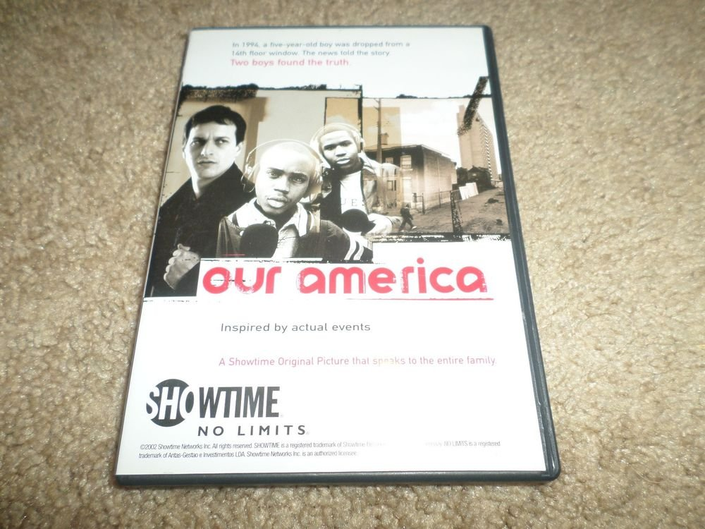 SHOWTIME NO LIMITS OUR AMERICA DVD INSPIRED BY ACTUAL EVENTS