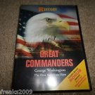 HISTORY CHANNEL GREAT COMMANDERS GEORGE WASHINGTON FIRST AMERICAN HERO DVD