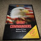 HISTORY CHANNEL GREAT COMMANDERS ROBERT E. LEE RELUCTANT WARRIOR DVD