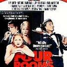 Four Rooms (DVD, 1999) MADONNA,MARISA TOMEI,ANTONIO BANDERAS,SAMMI DAVIS