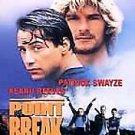 Point Break (DVD, 2001) PATRICK SWAYZE,KEANU REEVES RARE OOPRINT