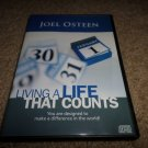 JOEL OSTEEN LIVING A LIFE THAT COUNTS DVD