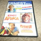 ERNEST IN THE ARMY,ERNEST GOES TO AFRICA,ERNEST GOES TO SCHOOL DVD (JIM VARNEY)