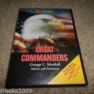 HISTORY CHANNEL GREAT COMMANDERS GEORGE C. MARSHALL SOLDIER & STATESMAN DVD