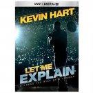 Kevin Hart: Let Me Explain (DVD, 2013, Includes Digital Copy; UltraViolet W/SLIP