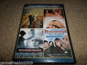 SHEPHERD OF PURE HEART,HE WHO FINDS A WIFE,WOUNDED HEARTS,REVEREND AVAILABLE DVD