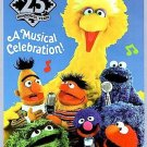 Sesame Street 25 YEARS A Musical Celebration (DVD, 1997)