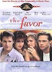The Favor (DVD, 2001) BRAD PITT,BILL PULLMAN